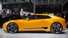 Peter Schreyer continues to rock it over there. This thing is wicked. 2016 Cars, Little Sport, Detroit Auto Show, Geek Culture, Car Show, Concept Cars, Cool Stuff, Halo, Manual