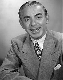 1945 / Eddie Cantor (1892-1964)  (Edward Israel Iskowitz).............. Actor, Comedian, Songwriter, Dancer, Singer, Humanitarian, Illustrated Song Performer