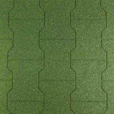 Rubber Paver Tiles Landscape Mulch