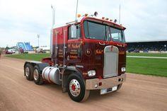 KENWORTH K100 semi tractor