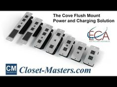 The Cove series power data station is available with screw mounting for furniture projects or a clamp mount installation for desks and table...