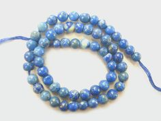 Lapis Lazuli Smooth Round / 3 mm / 56 Pieces / ST-256 by beadsofgemstone on Etsy