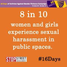 Know the facts so you can help stop them from being facts. #KnowTheFacts #StopStreetHarassment #UCC #NotOkay #BystanderIntervention