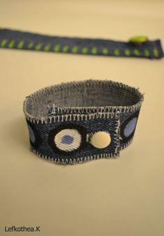 Jean bracelet Beanie, Hats, Bracelets, Jewelry, Fashion, Bangles, Jewellery Making, Moda, Hat