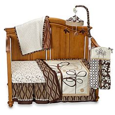 CoCaLo™ Pewter 4-Piece Crib Bedding Set and Accessories