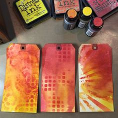 Distress Stains Video Tutorial (Marjie Kemper - Backgrounds)
