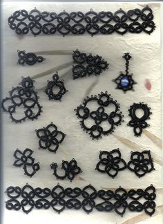Needle Tatting for Absolute Beginner   Needle Tatting Patterns For Beginners