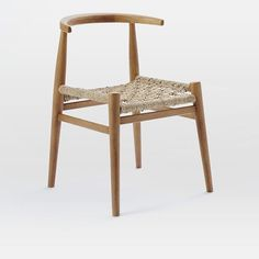 John Vogel Dining Chair, Acorn/Charcoal
