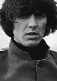 "George Harrison on the set of ""Help!"", 1965"