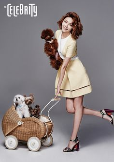 SNSD Soo Young | The Celebrity Magazine July Issue '15
