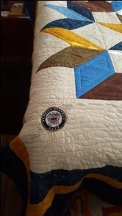 Navy quilt Navy Quilt, Quilts, The Originals, Pattern, Collection, Design, Quilt Sets, Patterns, Model