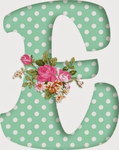 E on white with red polka dots Alphabet Art, Alphabet And Numbers, Letter Art, Minnie Png, Shabby, Lettering Design, Holidays And Events, Easter Crafts, Decoupage
