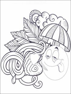Emojis - Emoticons Coloring Pages 25