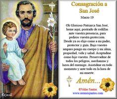 Rincón de la Oración: Estampas Oraciones de San José