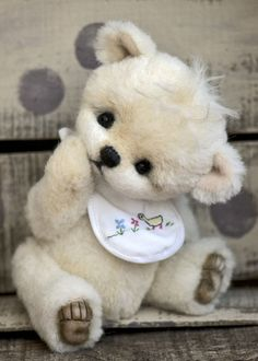 Three O'Clock Bears: Ickle Bambino...a new design...