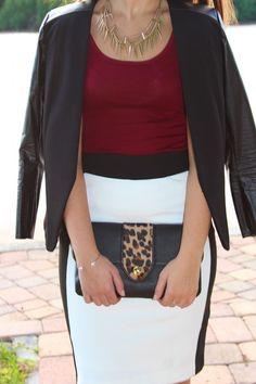 Fall outfit! #LinellEllis #leopard  #fashionblogger #Miami #ootd #fashion