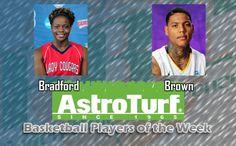 CSU's Bradford, UM's Brown Named PBC Basketball AstroTurf Players of the Week