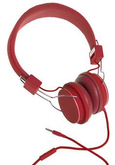 Thoroughly Modern Musician Headphones in Tomato, #ModCloth