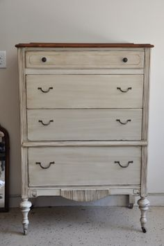 Fab Rehab Creations: Two Tone Dresser Reveal