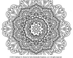 zentangle mandala coloring pages free online printable coloring pages, sheets for kids. Get the latest free zentangle mandala coloring pages images, favorite coloring pages to print online by ONLY COLORING PAGES. Fairy Coloring Pages, Mandala Coloring Pages, Free Coloring Pages, Printable Coloring, Coloring Books, Coloring Sheets, Tibetan Mandala, Sugar Skull Tattoos, Elephant Tattoos