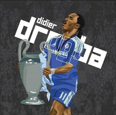 On this day in played his final game for Chelsea. Forever my favorite player, not to mention the hero of that night in Munich 🤩 Fc Chelsea, Football Pictures, Champions League, Black Panther, Munich, Finals, Soccer, Hero, Sports