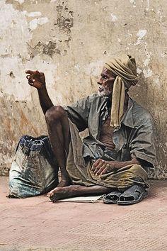 REALITY by Azli Jamil  #India #beggar #forgotten