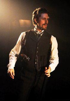 Aaron Tveit as John Wilkes Booth in Assassins