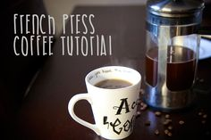 Is French Press right for you? Check out my tutorial to brewing a perfect cup with a French Press! - French Press CoffeeTutorial
