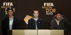 CR7, Messi e Iniesta, ante la Gala del Balón de Oro: 'No es un título a vida o muerte'.