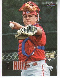 2006 Upper Deck # 990 Carlos Ruiz Rookie Philadelphia Phillie Baseball Card by Upper Deck. $4.00
