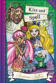 J FIC SEL. Ever After High is a boarding school for the sons and daughters of fairy tale characters, and student Ginger Breadhouse, daughter of the Candy Witch, studies all the usual magic subjects--but what she is mostly interested in is making her cooking show, Spells Kitchen, a success by introducing happiness as the secret ingredient.