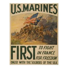 First To Fight in France Poster