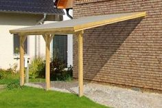 Carport canopy lean to complete kit