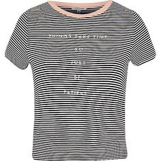 Black stripe neat t-shirt - print t-shirts / vests - t shirts / vests - women
