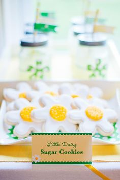 Little Daisy Birthday Party - Kara's Party Ideas - The Place for All Things Party