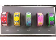 Disney MagicBand Decals Magic Bands Skins Covers Decorations www.myfantasybands.com