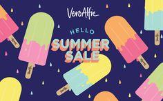 Vero Alfie | SS14 SALE by MAMBO design studio, via Behance