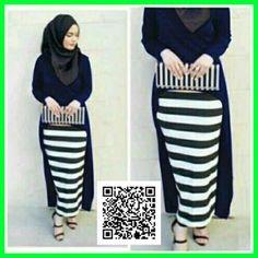 baju-maxi-gita-dress-modis-mgs31-navy