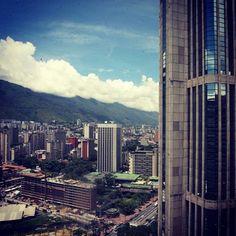 Vista desde #ParqueCentral #Caracas #Venezuela   Reportero Gráfico - Nelsón Castro