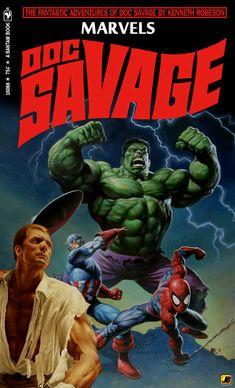 Doc Savage: Marvels Comic Book Fan Art