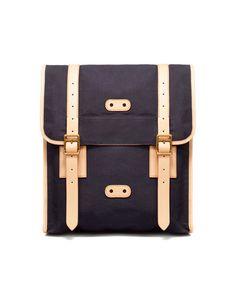 Fabric Messenger Bag