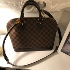 cd97eac61 Louis Vuitton LV Alma PM Damier Ebene   WITH dust bag /strap #fashion  #clothing #shoes #accessories #womensbagshandbags (ebay link)