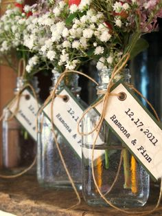 Winter Wedding Favor Bridal Shower Favor   Apothecary by joblake, $4.25