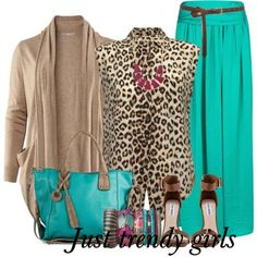 maxi skirt. with leopard , Summer maxi skirts for woman http://www.justtrendygirls.com/summer-maxi-skirts-for-woman/