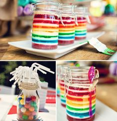 straw holder w/ gumballs... cute   # Pinterest++ for iPad #