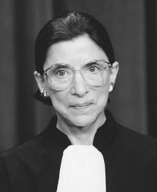 Ruth Bader Ginsburg is the second woman ever to sit on the United States Supreme Court and is known as the legal architect of the modern women's movement.