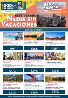 Ofertas en www.viajesviaverde.es: Este Verano...  Programas Traveltino por EEUU y Ca...