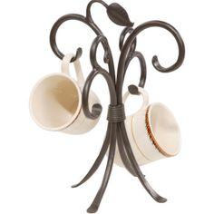 Sassafras Coffee Mug Rack by Stone County Ironworks