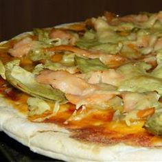 Smoked Salmon Pizza Allrecipes.com