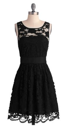 little black dress. Reminds me of Little Black Dress by One Direction :)